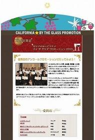 CALIFORNIA WINE PROMOTION 2010
