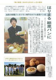 神戸新聞 '18 12月31日
